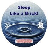 Sleep Like a Brick - Binaural Beat Non abusive CD / mp3 - Graphic
